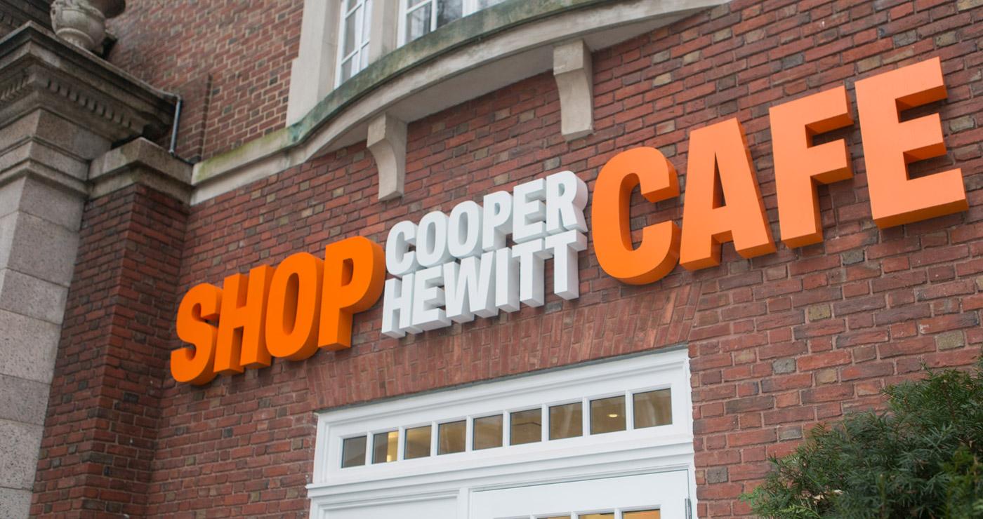 CooperHewitt Signage